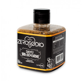 Shoyu Pet 250ml Sem Sódio - ZEROSODIO