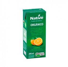 Suco De Laranja Orgânico 200ml - Native