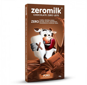 Chocolate Zero Milk 80 gramas